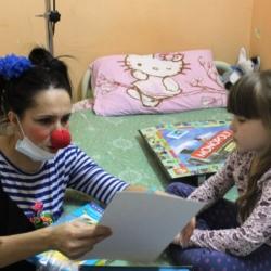 """""""Так я и стала Форточкой!"""" (История многодетной мамы ставшей больничной  клоунессой) 2"""