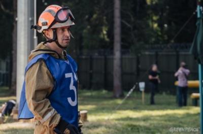 Григорий Куксин вошел в десятку лучших лесных пожарных России 61