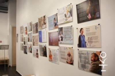 В центре «Благосфера» показали фотовыставку проекта «НКО-профи» 1