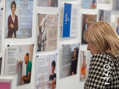 В центре «Благосфера» показали фотовыставку проекта «НКО-профи» 2
