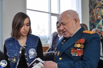 Девушка из Сосновки стояла рядом с Президентом России 2